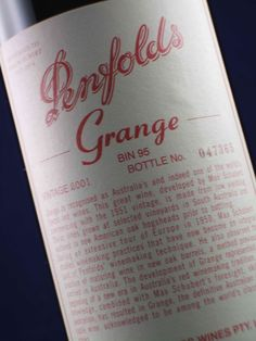 Dad gave me a bottle of this upon the birth of my daughter.  He would have loved to have met her..