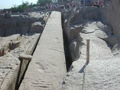 UNFINISHED OBELISK; Had this obelisk been completed, it would have been the heaviest obelisk ever cut in Ancient Egypt, weighing nearly 1100 tons! It is believed that it was constructed and abandoned during the reign of Queen Hatshepsut (18th Dynasty).