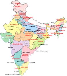 Carte de la france interesting france map in french language maps of india india map india city map detailed map of india gumiabroncs Image collections