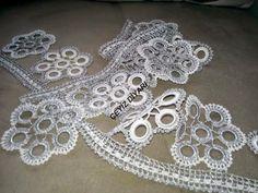 ...havlu Crochet Necklace, Elsa, Jewelry, Dandelions, Videos, Tricot, Craft, Tejidos, Stitching