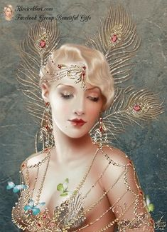 Maxine Gadd published fairy and fantasy artist. Exceptional digital illustrations and mystical beings Images Vintage, Vintage Art, Art Deco Posters, Vintage Posters, Moda Art Deco, Arte Steampunk, Art Deco Cards, Illustration Art, Illustrations
