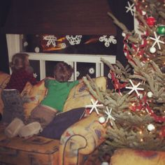 Christmas Magic. We Had Lovely Children