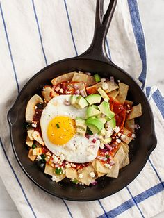 Chilaquiles With Avocado in 3 Easy Steps