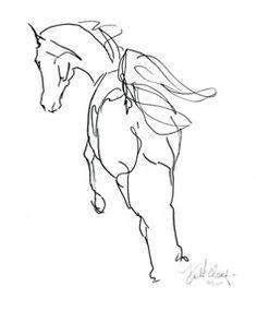 Expression Sketch | Spirit of Horse Art