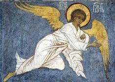 An Angel of the Lord Jesus Painting, Spiritual Art, Byzantine Art, Angel Artwork, Art, Catholic Art, Byzantine Icons, Christian Art, Sacred Art