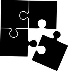 Free Image on Pixabay - Silhouette, Puzzle, Connect My Images, Free Images, Silhouette Images, Make A Donation, Graphic Illustration, Illustrations, Free Pictures, Connection, Puzzle