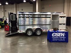 The 2016 Oklahoma State FFA Convention and Career Show is underway at the Cox Convention Center in Oklahoma City. Stop by the 4-Star/CSTK Custom Trailers booth!! (800) 696-2989