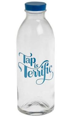 Tap Is Terrific Water Bottle