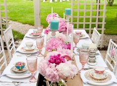 High tea time table setting. See the details you need to plan your tea party…