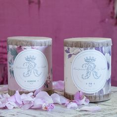 Vintage Wallpaper fig and verbena Candle from Rachel Ashwell Shabby Chic Couture ~ <3<3