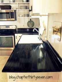 Beautiful Epoxy Countertop Kitchen Decoration (14)