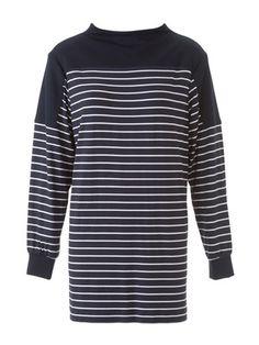 130 102014 B, wesentlich schmaler zuschneiden, sonst sackig. 12cm gekürzt Blouse Patterns, Sewing Patterns, Shirt Blouses, Shirts, Nautical, My Style, Sweaters, Mens Tops, Clothes