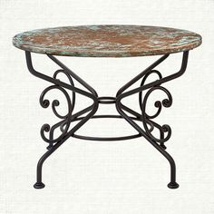 shop our recycled metal table collection at arhaus