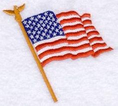 Machine Embroidery Designs at Embroidery Library! - US Flags