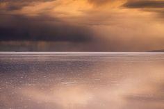 by Eric Meola / Atacama / Dancing Light. Uyuni Salt Lake. Bolivia