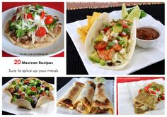 Parade's Community Table ~ 20 Mexican Recipes Sure to Spice up Your Meals