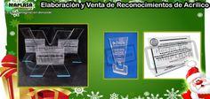 DICIEMBRE de PROMOCIONES Y DESCUENTOS en la venta de Reconocimientos de Acrílico para cualquier ocación Contáctenos: Visite nuestra web: http://maplasa.com/productos/reconocimientos/ventadereconocimientosdeacrilicoenchihuahua.php O llámenos al número: +52(614) 410-5822