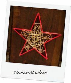 VanitasKREATIV: StringArt-Weihnachtsstern