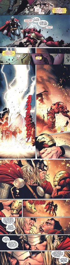 Thor vs. Iron Man... For Real This Time