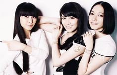 Perfume in the October 2013 issue of Vogue Japan FASHION'S NIGHT OUT guide book
