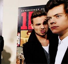 When Liam pretends to punch Harry in the face and a part of you wishes Liam would literally just straight up punch you in the face. | 36 Life-Changing Things That Happen At A One Direction Red-Carpet Premiere