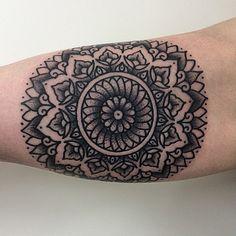 Tattoo by @marktattooist #blackworkers #tattoo #bw #blackwork #blacktattoo