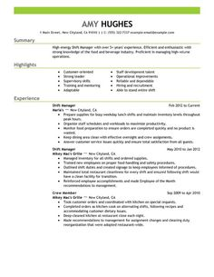 Assistant Manager Resume Cover Letter - Assistant Manager Resume ...
