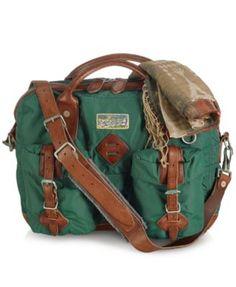 Polo Ralph Lauren Yosemite Nylon Attaché Men - Bags   Backpacks - Macy s 4e93821241d99