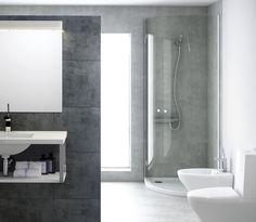 Platos de ducha. Esquineros y rectangulares.