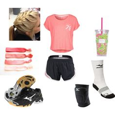 """""""volleyball practice"""" by esings-j on Polyvore"""