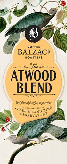 Atwood Blend // coffee packaging