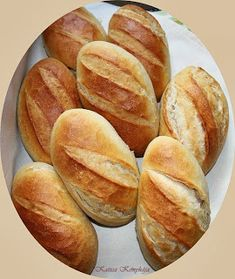Bread Recipes, Baking Recipes, Bread Dough Recipe, Hungarian Recipes, Hungarian Food, Bread And Pastries, Dessert Drinks, Snacks, Food 52