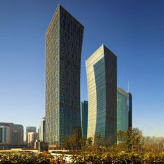 Agricultural Bank of China / Construction Bank of China Headquarters | Arquitectonica