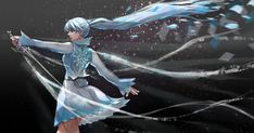 Weiss by SimhaART on DeviantArt