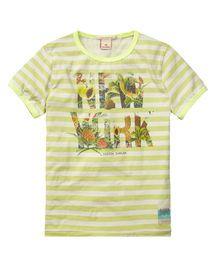 T-shirt met opgerolde korte mouwen | T-shirt s/s | Jongenskleding bij Scotch & Soda