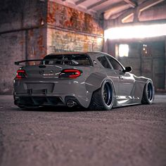 """Mazda """"Gray Ghost"""" Has Window Delete and Widebody Madness - autoevolution Wallpaper Carros, Jdm Wallpaper, Best Jdm Cars, Mazda Cars, Mazda Mx 5, Japanese Sports Cars, Street Racing Cars, Auto Racing, Drag Racing"""