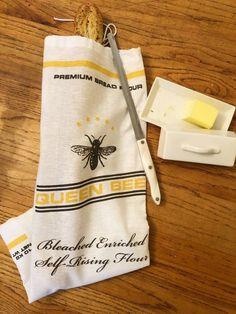 Bread Bag Saver Queen Bee Handmade Food