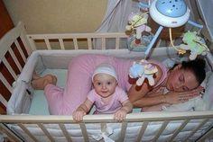Incluso en la cuna de tu bebé te sentirás cómodo