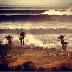 Taghazout Beach, Agadir - Morocco.