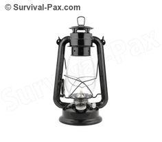 Kerosene lantern.