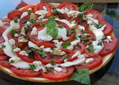 Delicious summer food - caprese