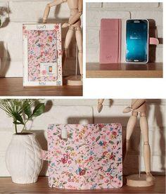 LuvN Real Garden Flower Delightful Wallet Case for Galaxy Grand 2