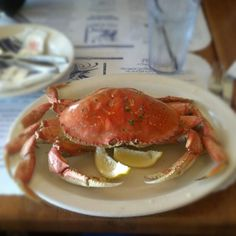 Whole Crab at Pier Market