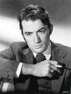 Gregory Peck Smoking Camel Cigarettes