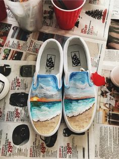 fashion - Sneakers vans ems 44 best ideas Sneakers vans ems 44 best ideas is part of fashion - fashion - Sneakers vans ems 44 best ideas - fashion Painted Canvas Shoes, Custom Painted Shoes, Painted Vans, Painted Sneakers, Hand Painted Shoes, Tenis Vans, Vans Sneakers, Converse Shoes, Shoes Valentino