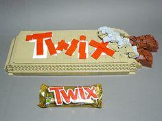 Supersized Twix Bar