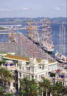 España. GALICIA: La Coruña. Precioso viaje por hacer**