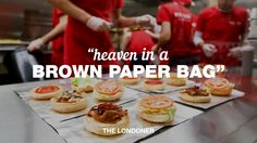 OMG it's true, Five Guys in London!      Quote: Heaven In A Brown Paper Bag - The Londoner