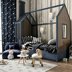 60 Affordable Kids Bedroom Design Ideas That Suitable Fo Kids Room Design affordable Bedroom Design Ideas Kids suitable Kids Bedroom Designs, Baby Room Design, Baby Room Decor, Bedroom Ideas, Toddler Rooms, Baby Boy Rooms, Bedroom Design Inspiration, Design Ideas, Luxurious Bedrooms