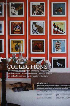 The Decorista-Domestic Bliss: Weekend Decorating Idea: creative wall decor